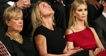 Carryn Owens and Ivanka Trump at Joint Session of Congress
