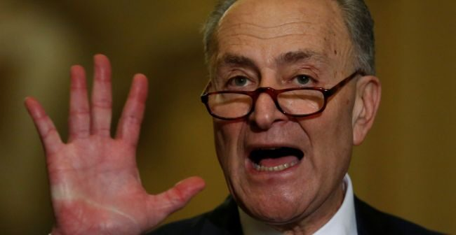 Chuck Schumer says Democrats Can Block Supreme Court Pick Gorsuch and the Repeal of Obamacare