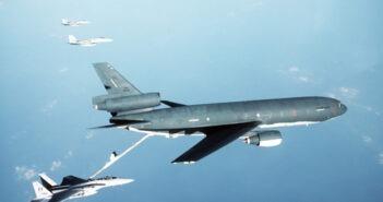 KC-10 refueling f-15