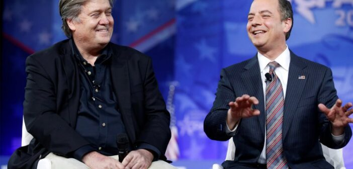 Watch: Steve Bannon and Reince Priebus Speak at CPAC 2017 – Must See!