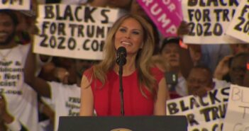 Watch: Melania Trump Recite the Lord's Prayer at Trump Rally