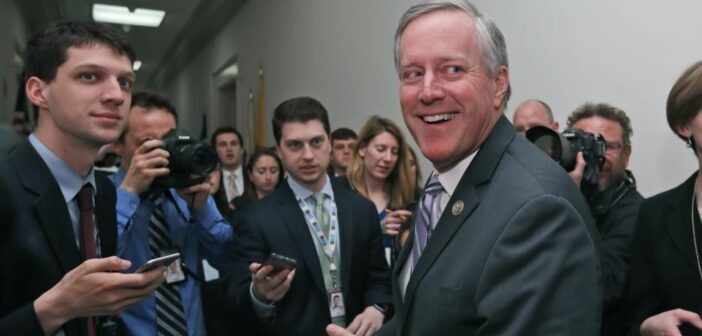 House Freedom Caucus Chairman Rep Mark Meadows