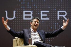 Uber CEO and founder Travis Kalanick