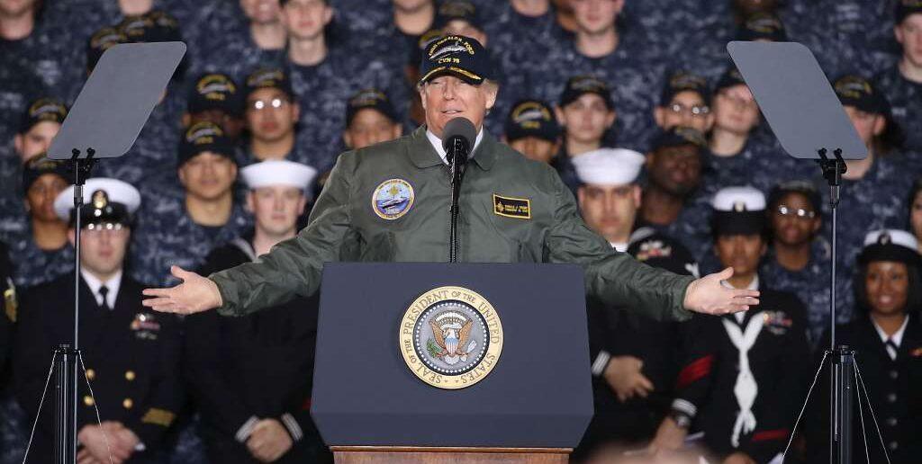 trump-ford-navy-members