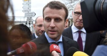 Emmanuel Macron has created a new party called En Marche