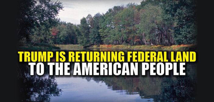 BREAKING : Trump Working to Recind Obama Land Grab