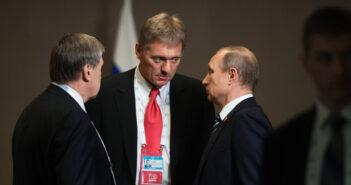 Russian President Vladimir Putin Dmitry Peskov Sergey Guneev Sputnik