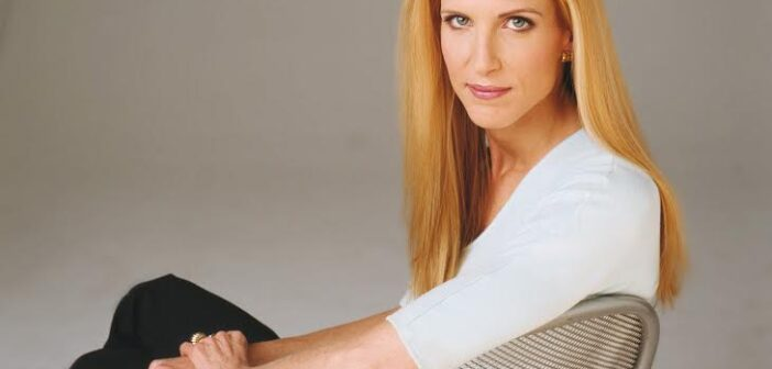 ANN COULTER photo by DEBORAH FEINGOLD