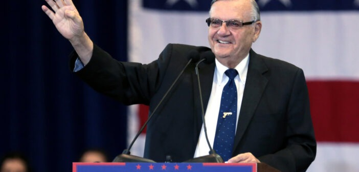 Flash! Trump Pardons Sheriff Joe!