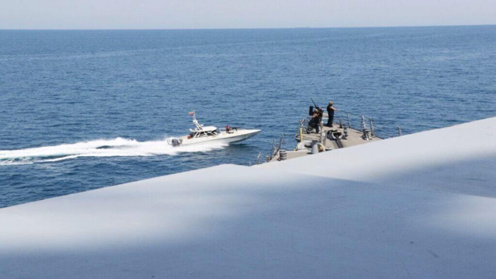 iranian boat us navy