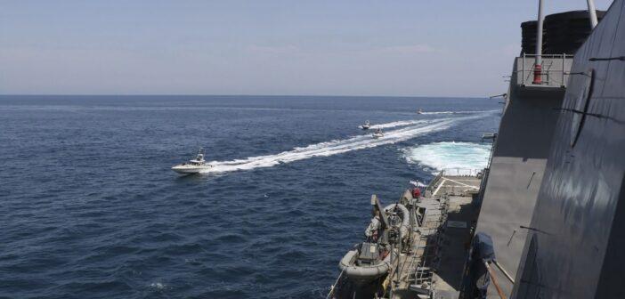 US Navy Iran Boats
