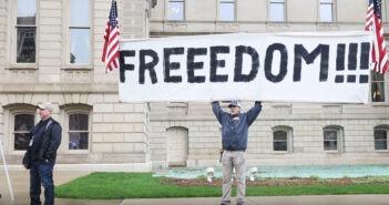 Michigan Freedom Protester