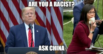 CBS News Trump Racist China